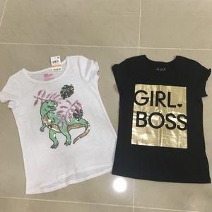 🌷Bundle Of Girls Shirts Size 5/6